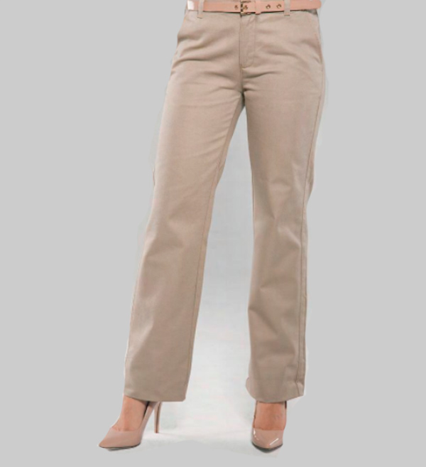 Pantalon De Gabardina Para Dama D0650 Central De Camisetas